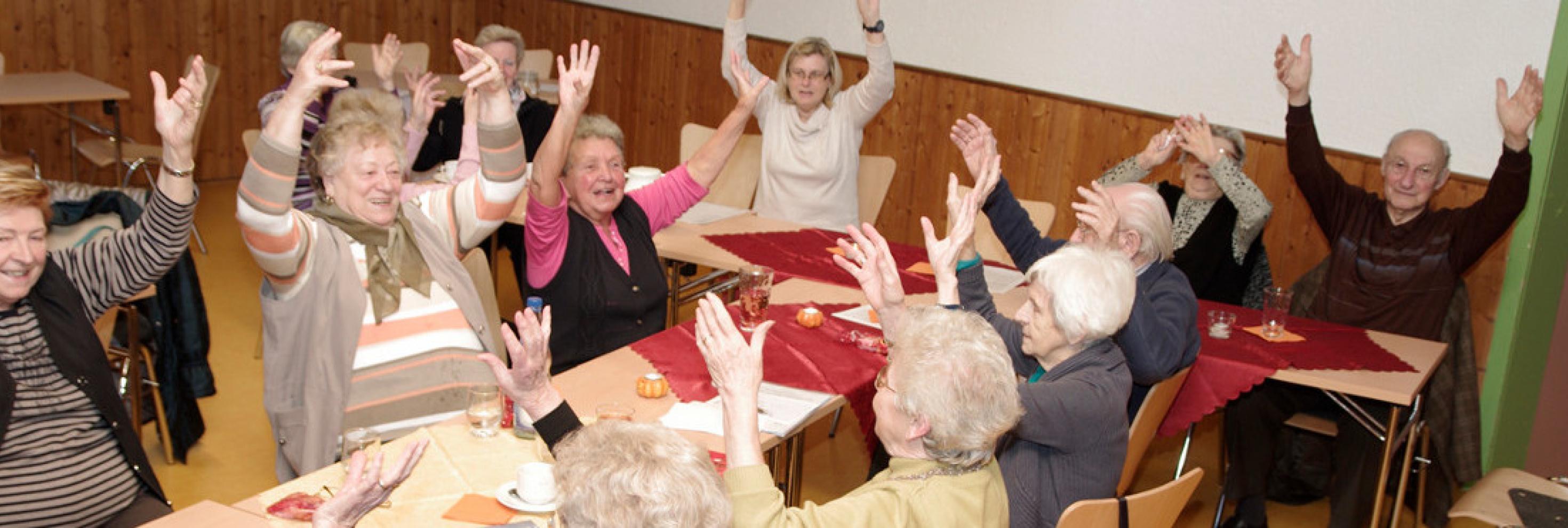 Senioren bei den NaturFreunden in Frankenthal
